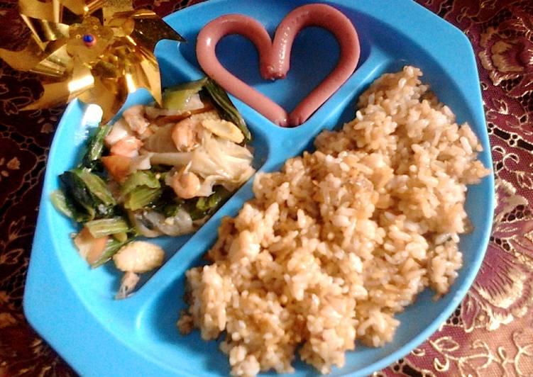 Resep Nasi Goreng Batita Paling Gampang