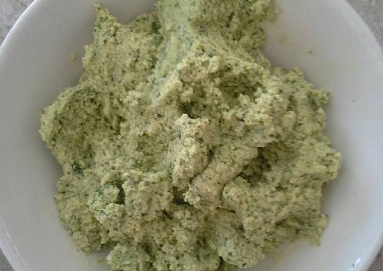 How to Prepare Perfect Green tofu spread