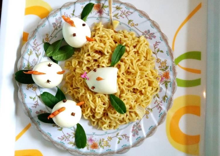Chicken Egg Noodles
