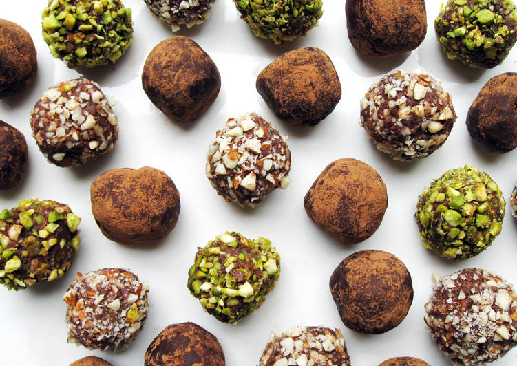 Easiest Way to Make Perfect Silken Tofu & Rum Raisins Chocolate Truffles