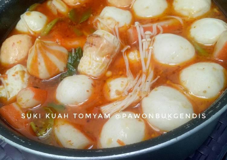 Resep Suki Kuah Tomyam Oleh Ibukgendis Cookpad
