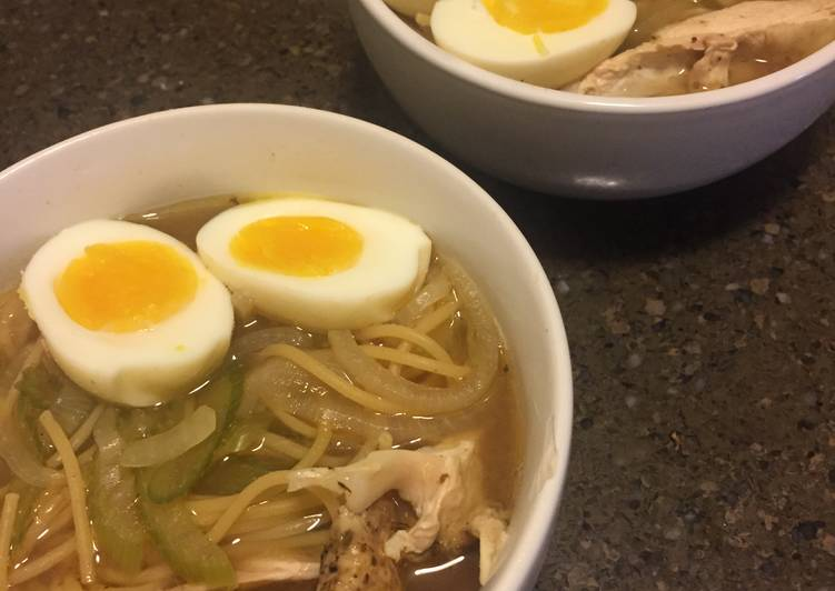 Simple Way to Make Quick Crockpot Chicken Noodle Soup