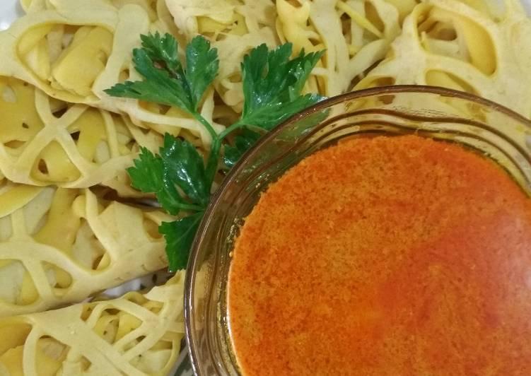 Resep Roti Jala kuah Kari Ayam oleh teh atiek - Cookpad