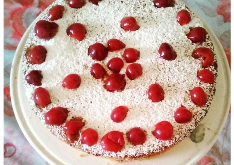 Gâteau vegan à la cerise 🍒