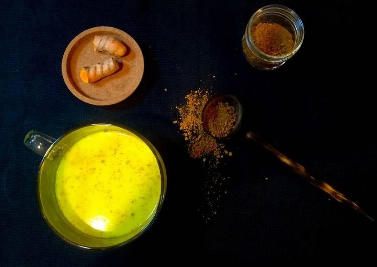 Pâte de curcuma pour lait d'or