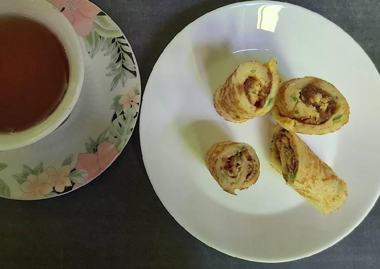 Sandwich gulung abon spesial