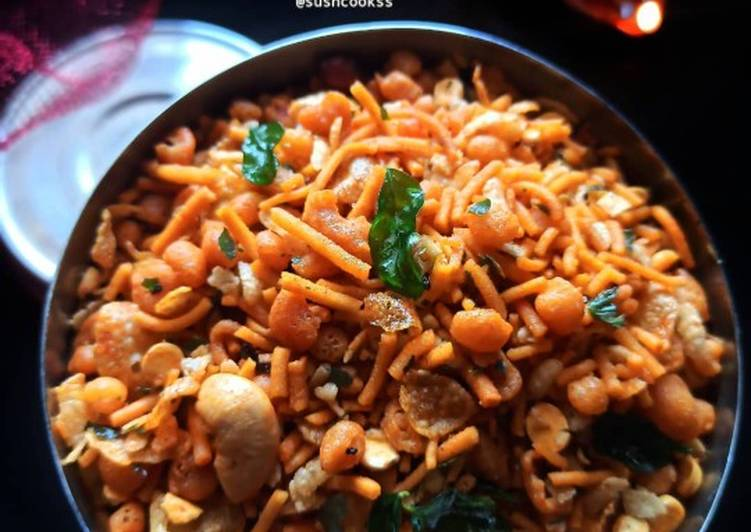 Recipe of Speedy South indian spicy mixture