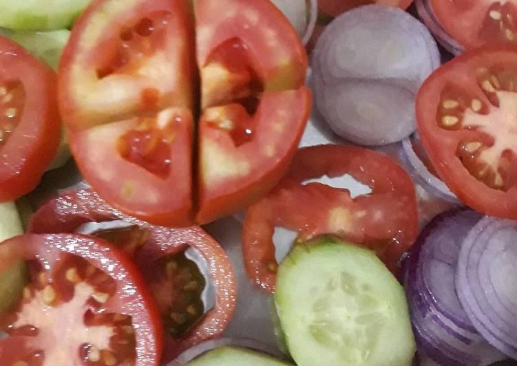 Simple Way to Make Award-winning Daba Fresh Salad