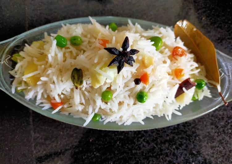 Easiest Way to Make Perfect Vegetable Navratna Pulao