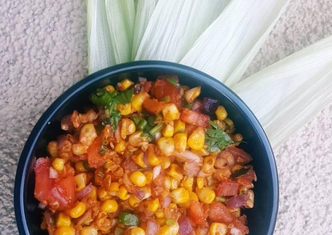 Easiest Way to Prepare Delicious Corn Chaat