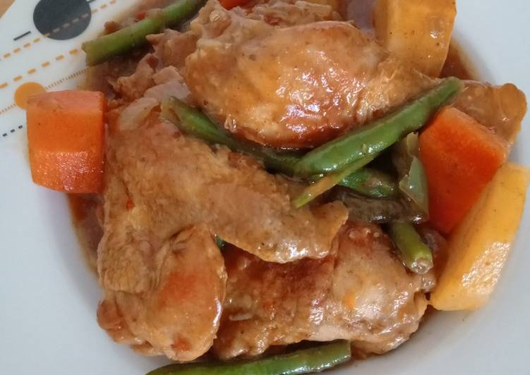 Simple Way to Make Top-Rated Simple Chicken Stew