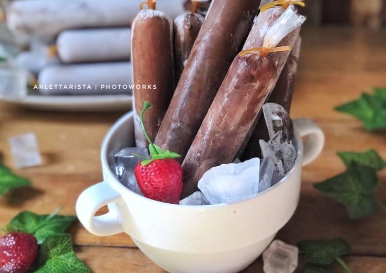 Resep Es Mambo Coklat Choki Choki Yang Bisa Manjain Lidah Kreasi Masakan