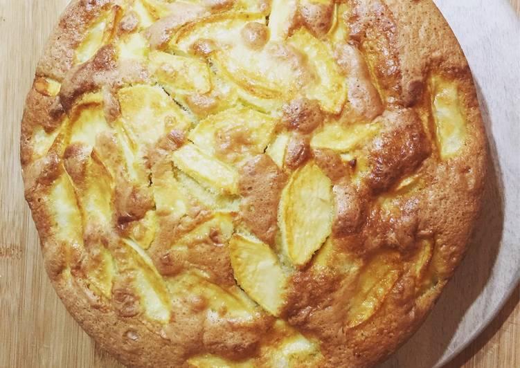 Recette Savoureux Mon gâteau aux pommes