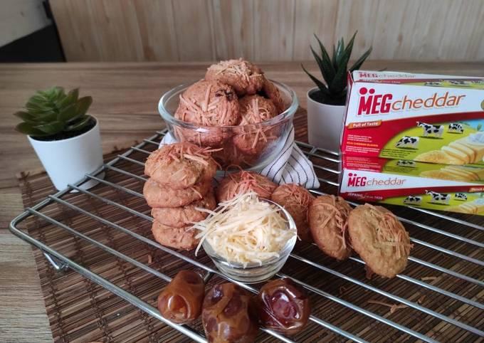MEG Cheese Toffee Date Cookies