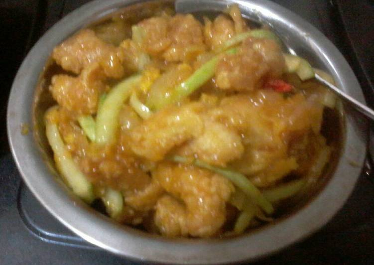 Ayam Saus Lemon (Bumbu Bamboe)