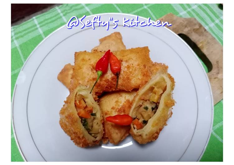 Bagaimana mengolah 🌮Risoles Sayur Ayam Teriyaki🌮 Anti Gagal