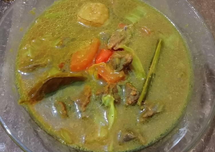 Tongseng daging sapi+ bakso ayam