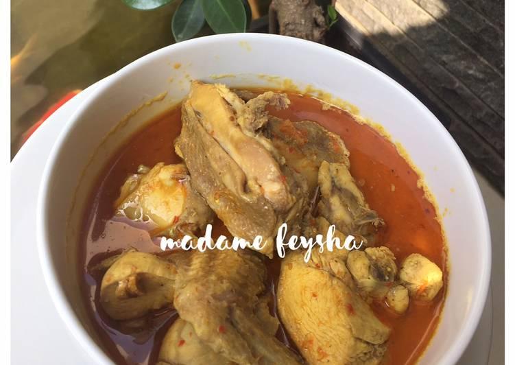 Kari Ayam Pedas - cookandrecipe.com