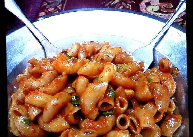 Simple macaroni pasta recipe
