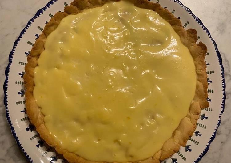 Tarte au citron rapide et facile
