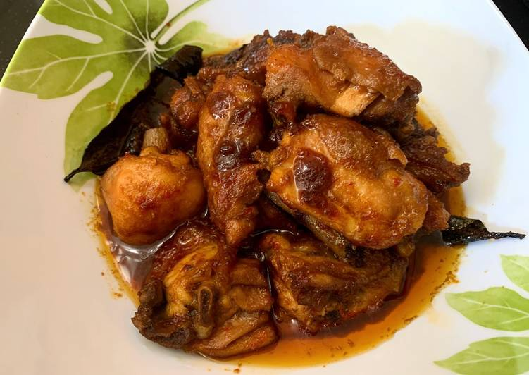 Ayam bumbu kecap pedas manis