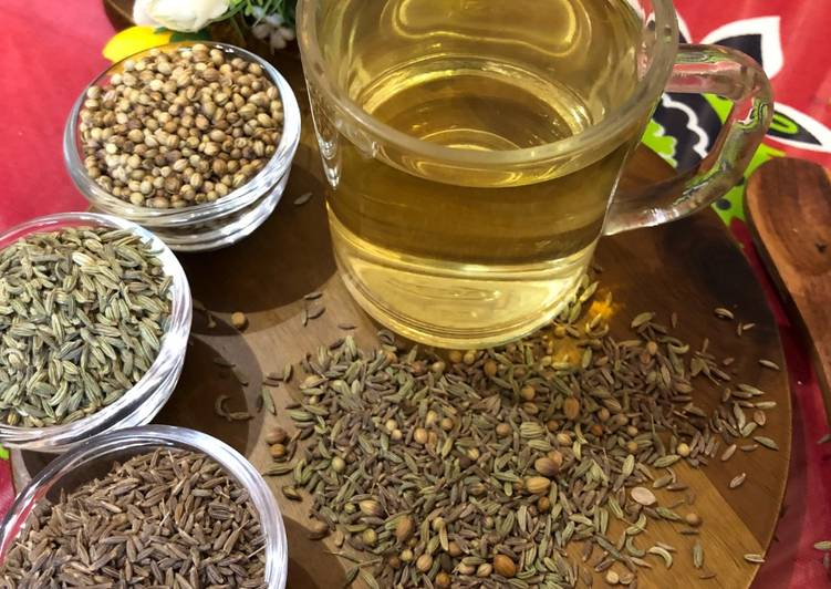 Recipe of Quick CCF Tea Or Cumin Coriander Fennel Tea – Healthy Beverage
