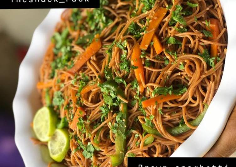 Foods That Can Make Your Mood Better Brown spaghetti