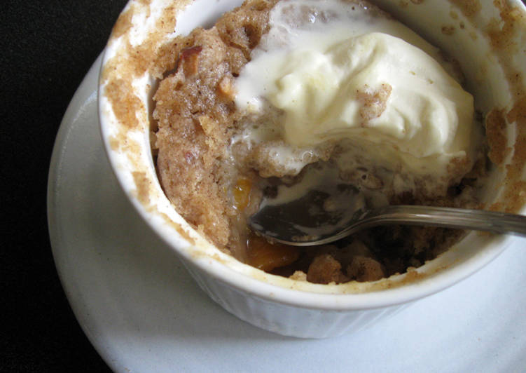 Step-by-Step Guide to Make Any-night-of-the-week Super Easy Peach Cobbler