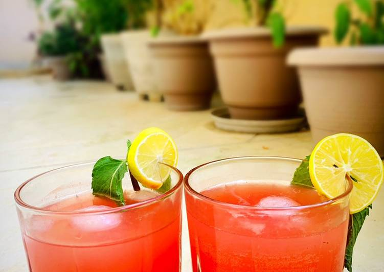 Recipe: Tasty Watermelon Cooler