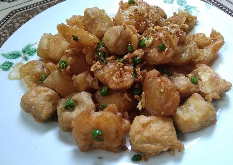 Tahu Crispy Cabai Bawang