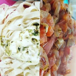 2 salsas rápidas para pastas