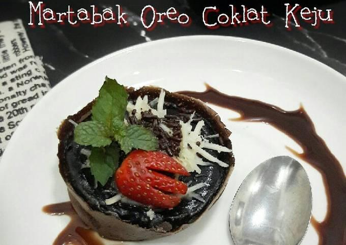 Martabak Oreo Coklat Keju