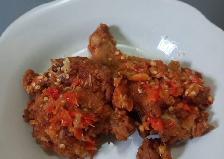 Ayam Geprek BENSU Pedas