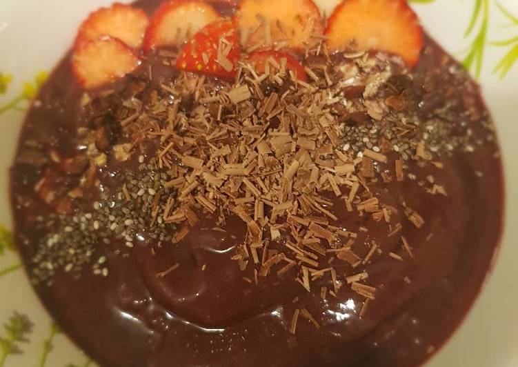 Recipe of Award-winning Homemade acai bowl with Choco shaving