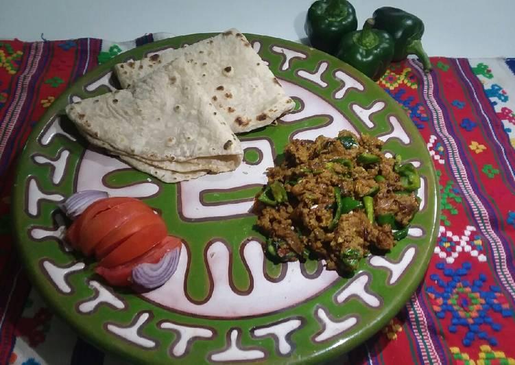 Recipe of Speedy Qeema shimla mirch