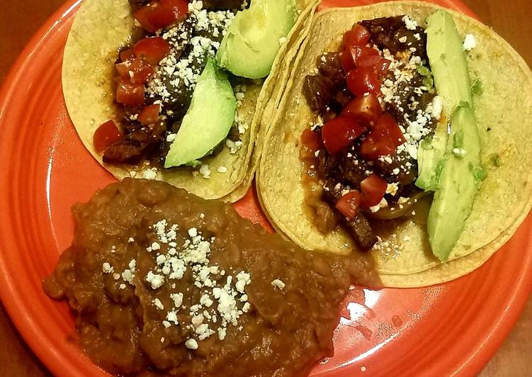 Easiest Way to Prepare Perfect Wagyu Beef Cheeks Tacos