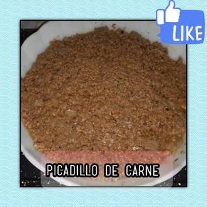 Picadillo De Carne [[para empanadas, pastel de papas]]