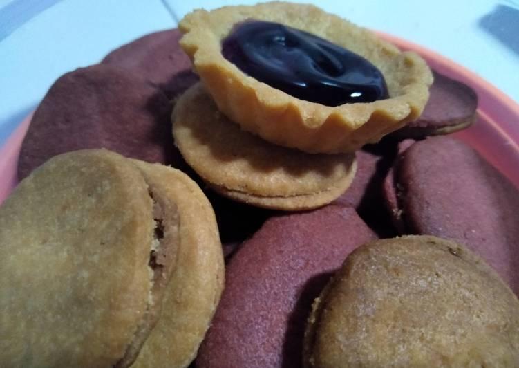 Cookies versi bentuk suka2