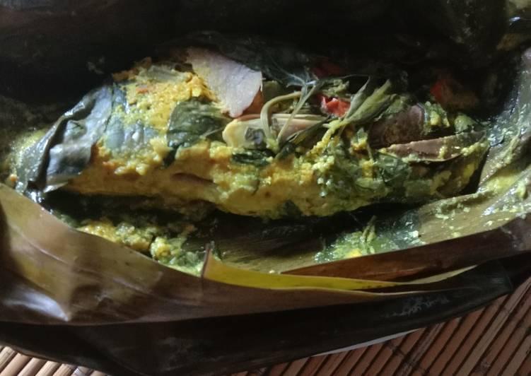 Pepes ikan mas presto bdg