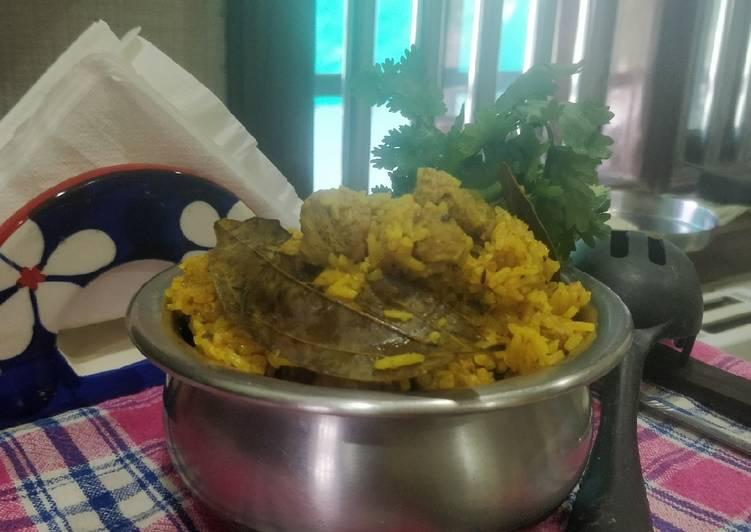 Easiest Way to Prepare Award-winning Soya chunks pulaao