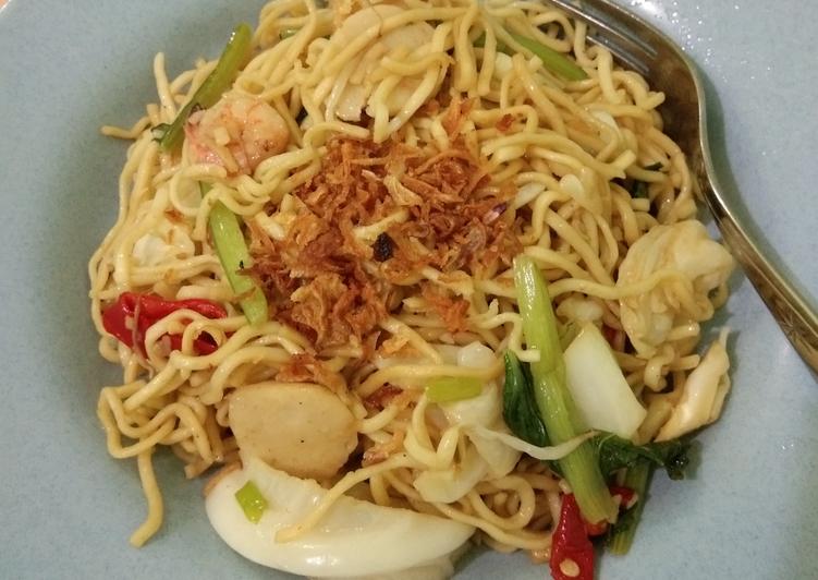 Goreng Mie Aci seafood