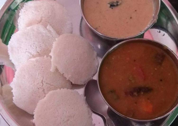 How to Make Ultimate Suji Idli with Sambhar