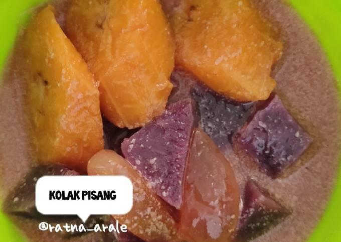 Kolak pisang ubi ungu