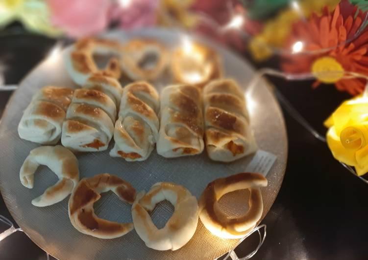Chicken bread rolls