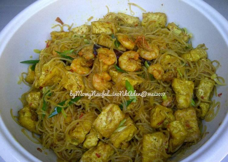 Resep Oseng2 Bihun Tahu berudang (recomend buat balita) Favorit