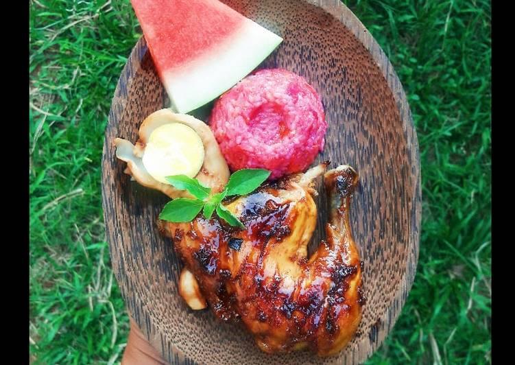 Nasi Goreng Kulit Naga X Ayam Kecap