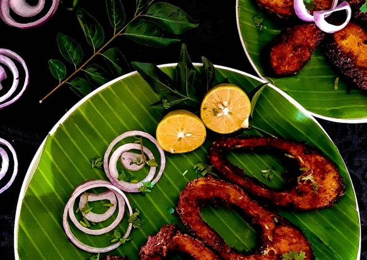 How to Prepare Any-night-of-the-week South Indian style FISH FRY