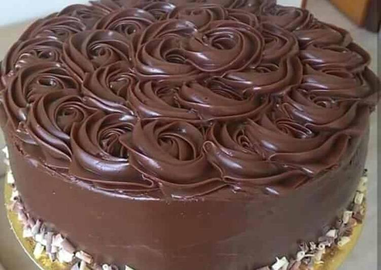 Birthday Cake Simple kukus - cookandrecipe.com