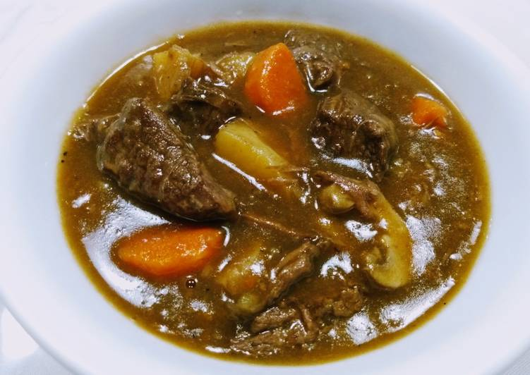 Beef and onion stew