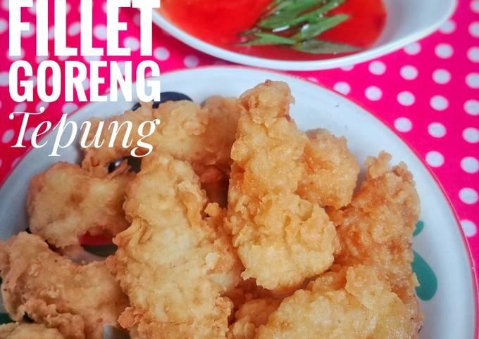 Resep Dori (patin) fillet goreng tepung, Bisa Manjain Lidah
